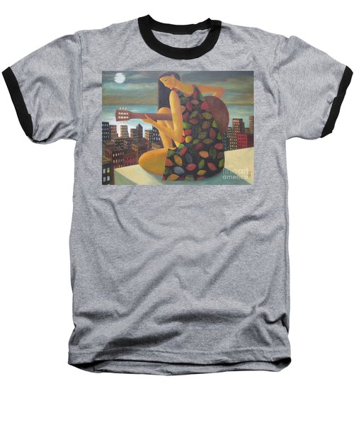 Baseball T-Shirt featuring the painting Brazil by Glenn Quist