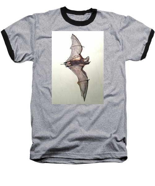 Brazilian Free-tailed Bat Baseball T-Shirt