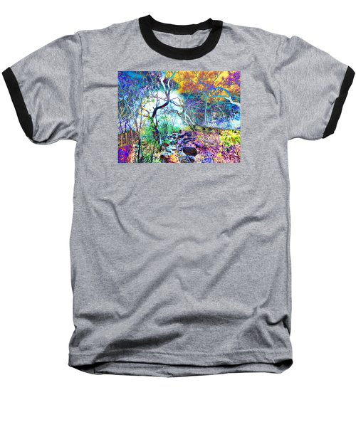 Baseball T-Shirt featuring the photograph Brazilian Surreal Forest by Beto Machado