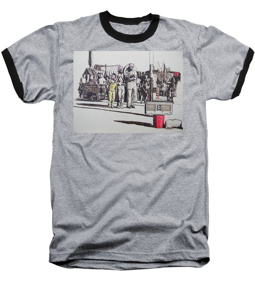 Breakdance San Francisco Baseball T-Shirt