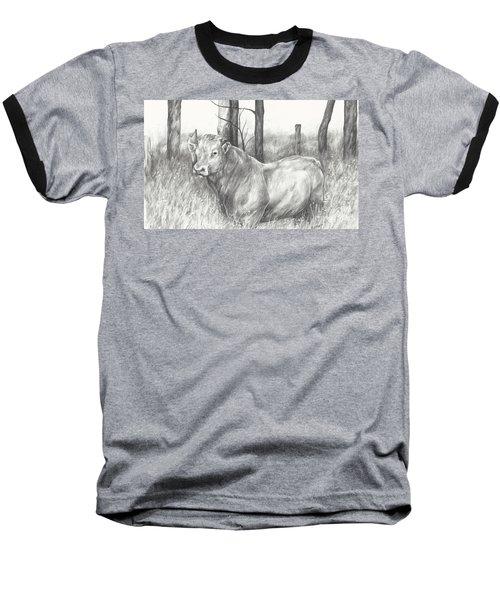 Breaker Study Baseball T-Shirt by Meagan  Visser