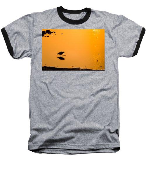 Breakfast Baseball T-Shirt by Craig Szymanski