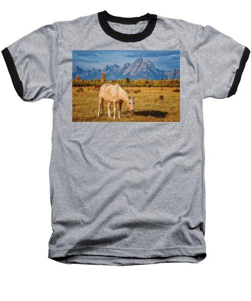 Breakfast In The Tetons Baseball T-Shirt
