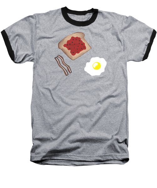 Breakfast - Food Art Baseball T-Shirt