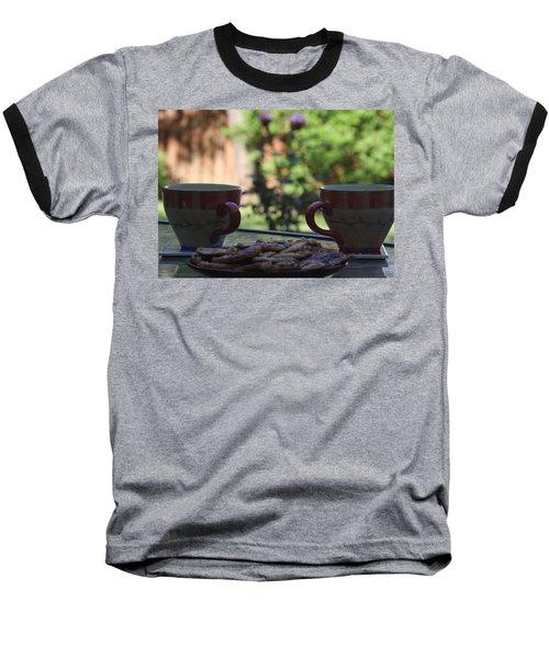 Breakfast Time Baseball T-Shirt