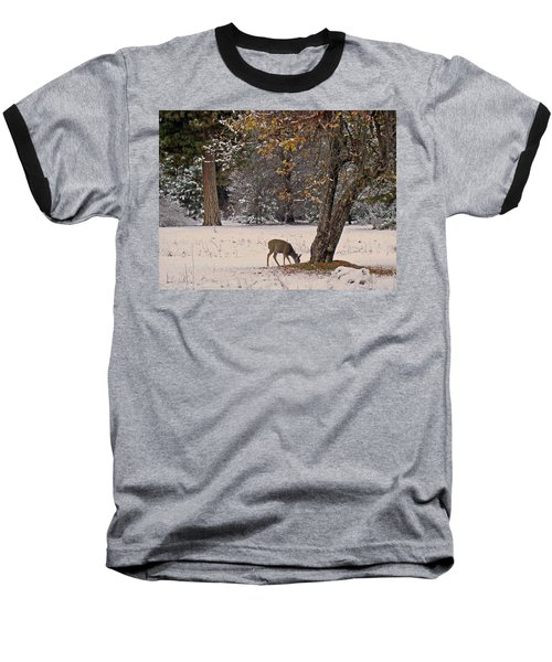 Baseball T-Shirt featuring the photograph Breakfast Time by Walter Fahmy