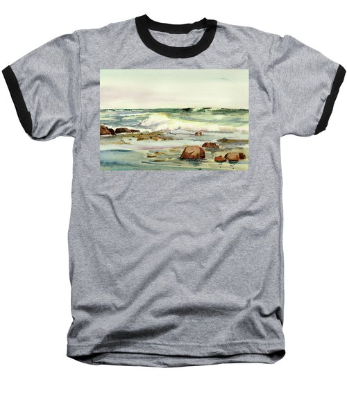 Breaking Seas Baseball T-Shirt