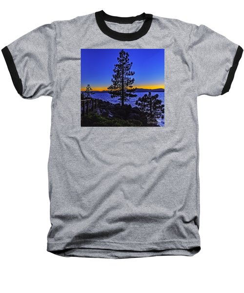 Baseball T-Shirt featuring the photograph Breaking The Rules by Nancy Marie Ricketts