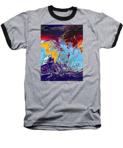Breaking Waves Baseball T-Shirt