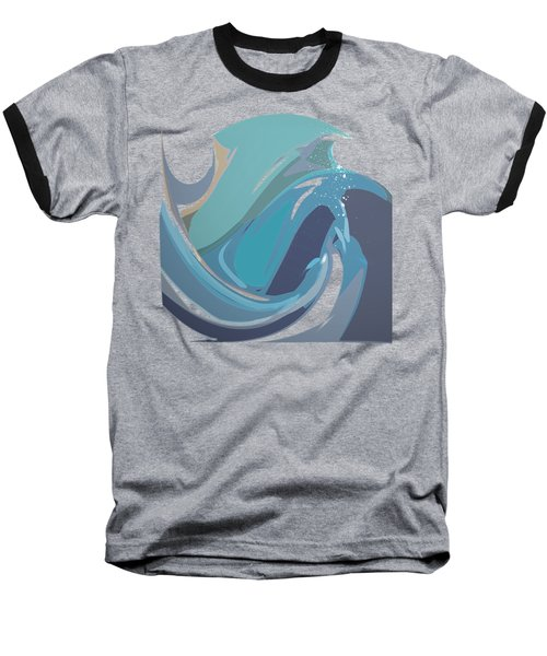 Breaking Waves Baseball T-Shirt