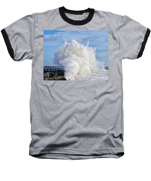 Breakwater Explosion Baseball T-Shirt