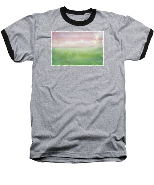 Baseball T-Shirt featuring the digital art Breath Of Spring by Christina Lihani