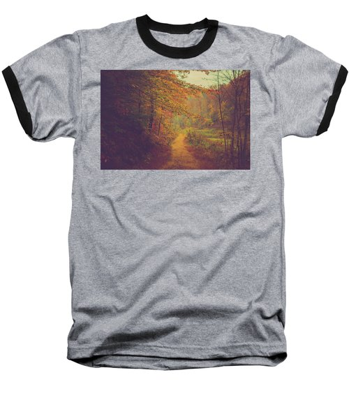Baseball T-Shirt featuring the photograph Breathe In Autumn by Shane Holsclaw