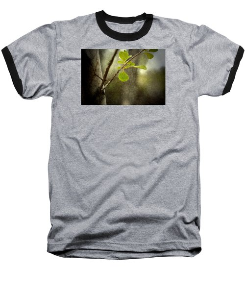 Breathe With Me Baseball T-Shirt by Mark Ross