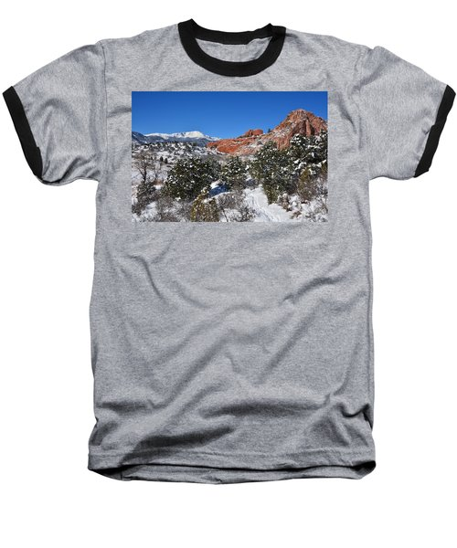 Breathtaking View Baseball T-Shirt by Diane Alexander