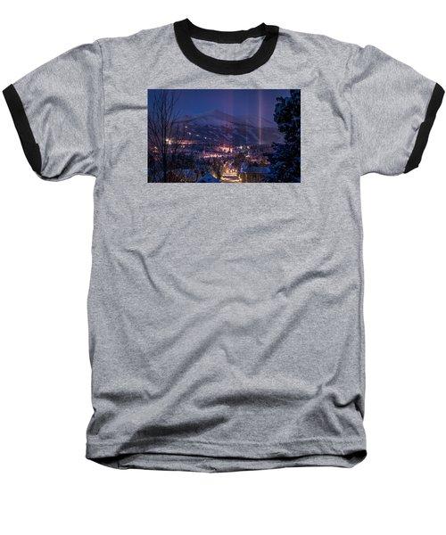 Breckenridge Phenomenon Baseball T-Shirt by Michael J Bauer