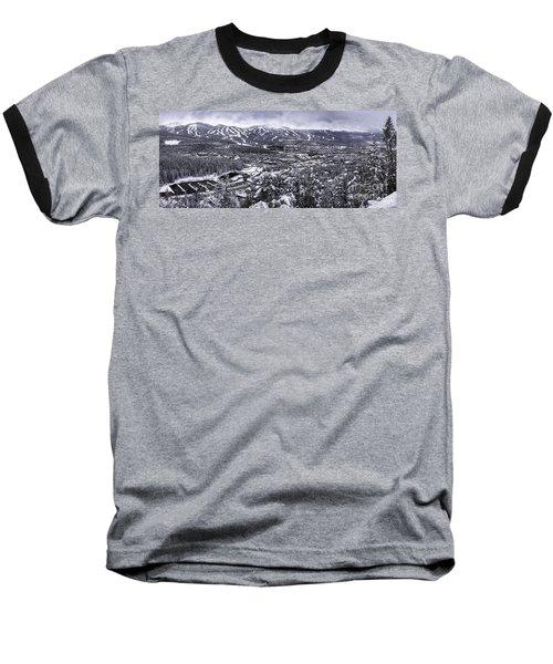 Breckenridge Ski Area Baseball T-Shirt