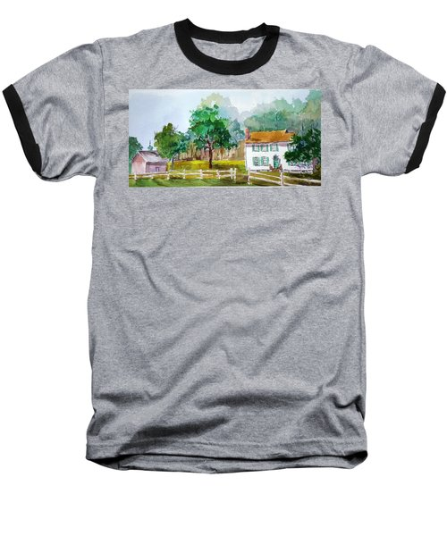 Brecknock Park Baseball T-Shirt by Larry Hamilton