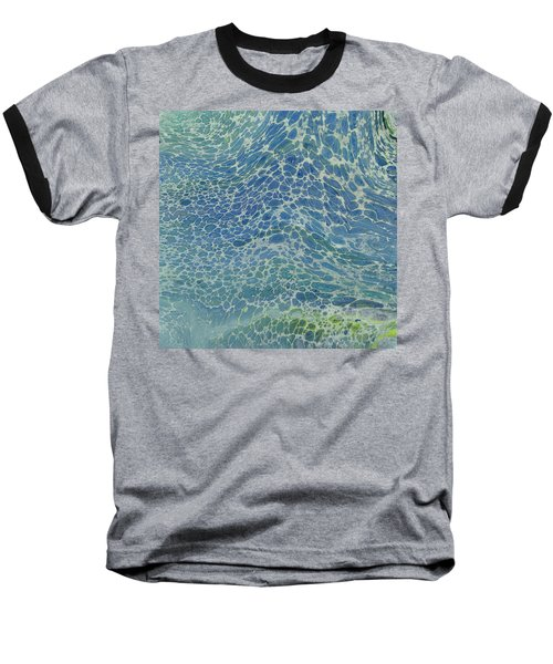 Breeze On Ocean Waves Baseball T-Shirt
