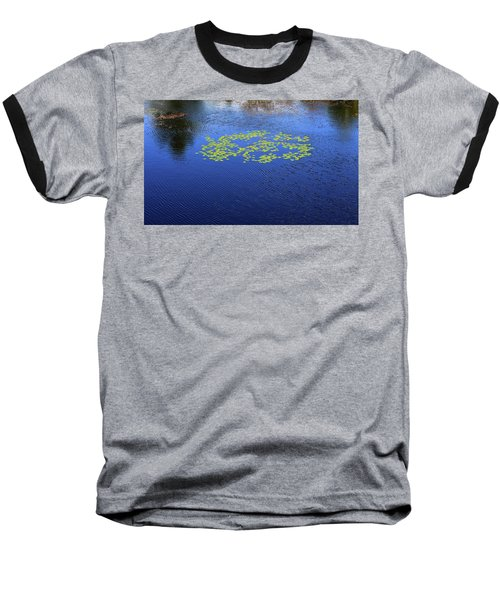 Breeze On The Water  Baseball T-Shirt by Lyle Crump