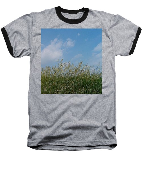 Baseball T-Shirt featuring the photograph Breezy Day by Sara  Raber