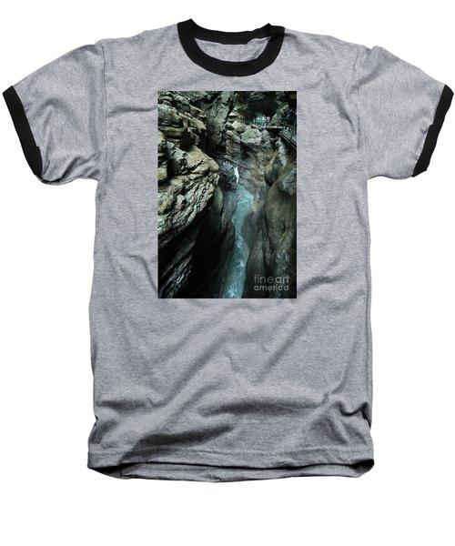 Breitach Gorge Oberstdorf 8 Baseball T-Shirt
