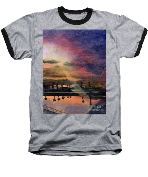 Brenda's Bay Baseball T-Shirt by Randy Sprout