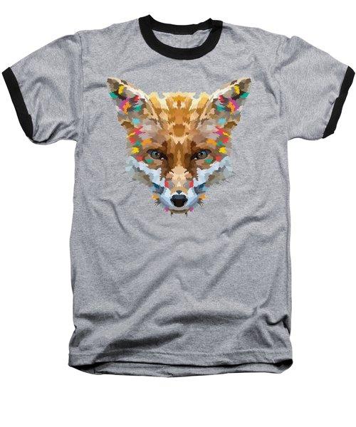 Brerr Fox T-shirt Baseball T-Shirt by Herb Strobino
