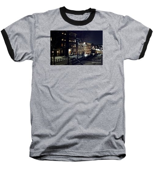 Brethrens House  Baseball T-Shirt by DJ Florek