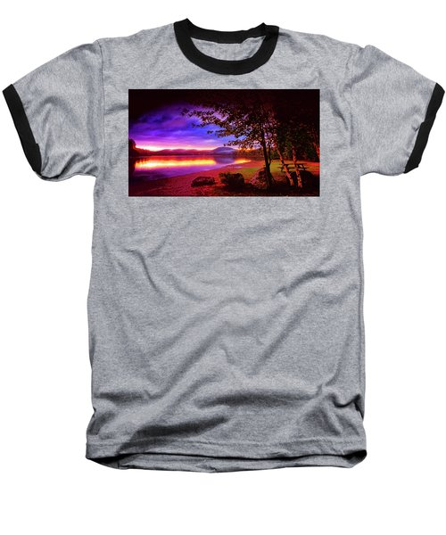 Bretton Pond Rest Area In Livermore Maine Baseball T-Shirt