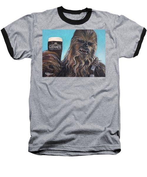 Brewbacca Baseball T-Shirt by Tom Carlton