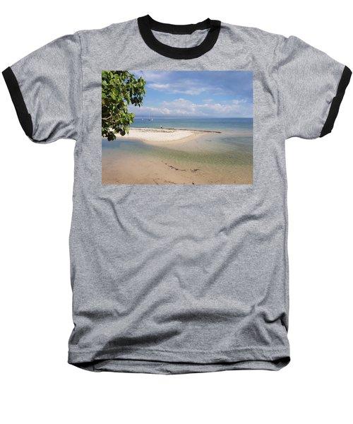 Bribie Island  Baseball T-Shirt
