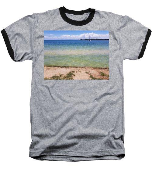 Bribie Ocean  Baseball T-Shirt