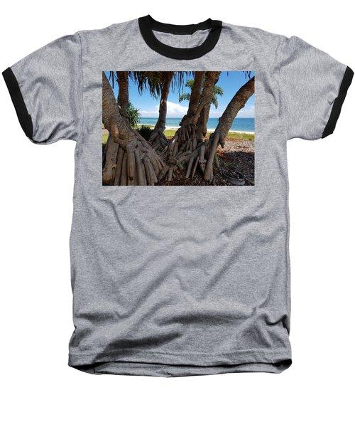 Bribie Trees  Baseball T-Shirt
