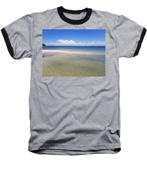 Bribie Waters Baseball T-Shirt