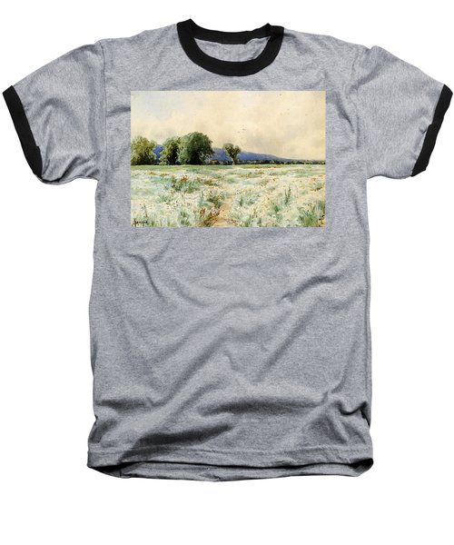 Bricher Alfred Thompson The Daisy Field Baseball T-Shirt
