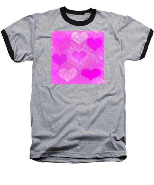 Brick Hearts Baseball T-Shirt