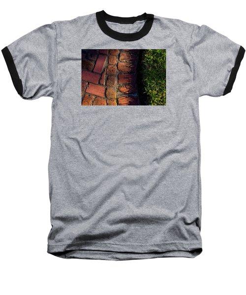 Brick Path In Afternoon Light Baseball T-Shirt