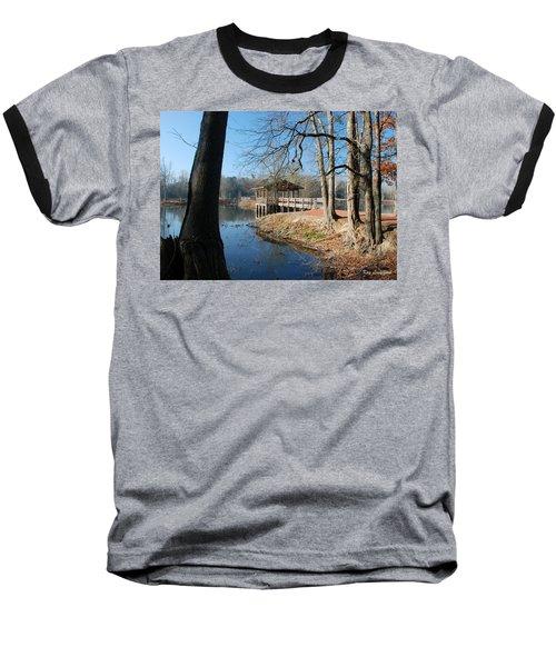 Brick Pond Park Baseball T-Shirt by Kay Lovingood
