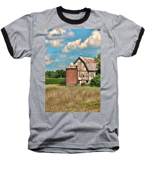 Brick Silo Baseball T-Shirt