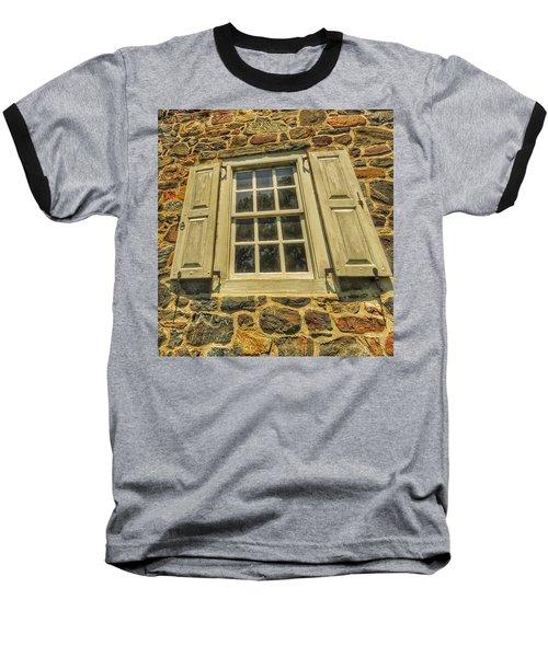 Bricks And Mortar I Baseball T-Shirt