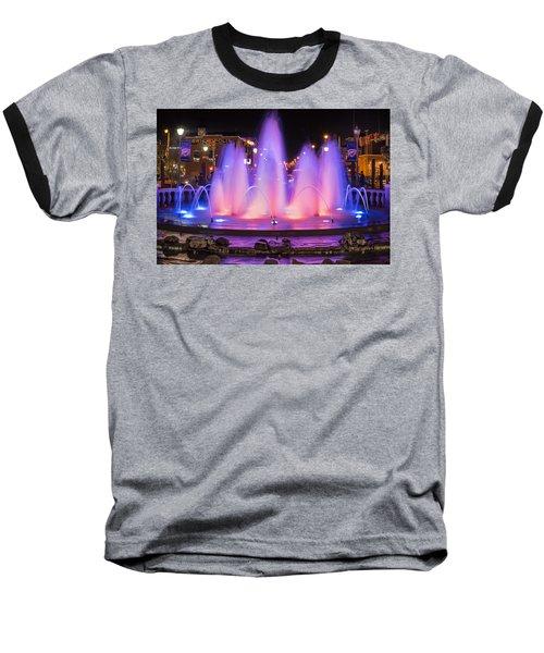 Bricktown Fountain Baseball T-Shirt
