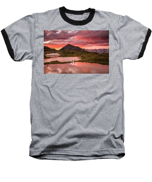 Bridal Veil Basin 2 Baseball T-Shirt
