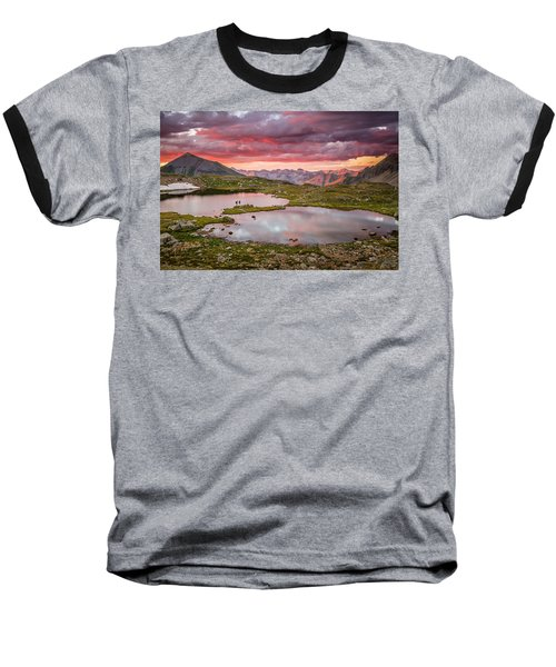 Bridal Veil Basin Baseball T-Shirt