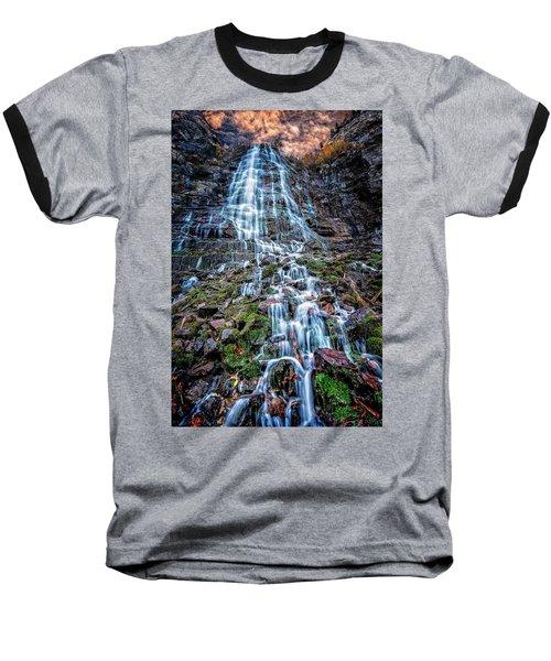 Bridal Veil Falls Utah Baseball T-Shirt