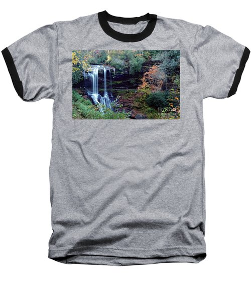 Bridal Veil Waterfalls Baseball T-Shirt by Debra Crank