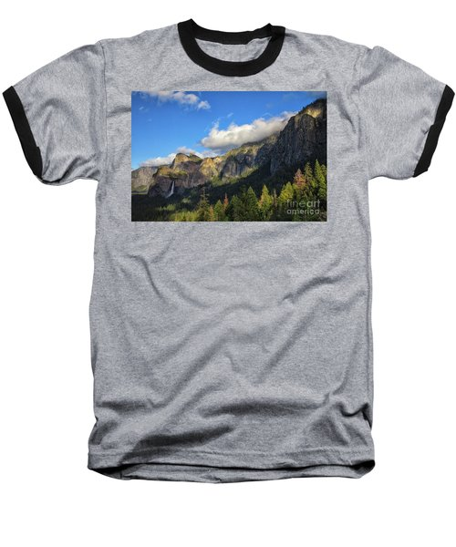 Bridalveil Fall Baseball T-Shirt