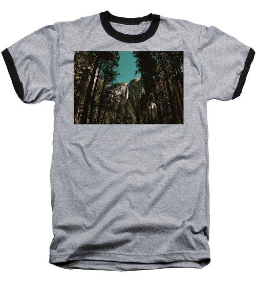 Bridalveil Falls Baseball T-Shirt
