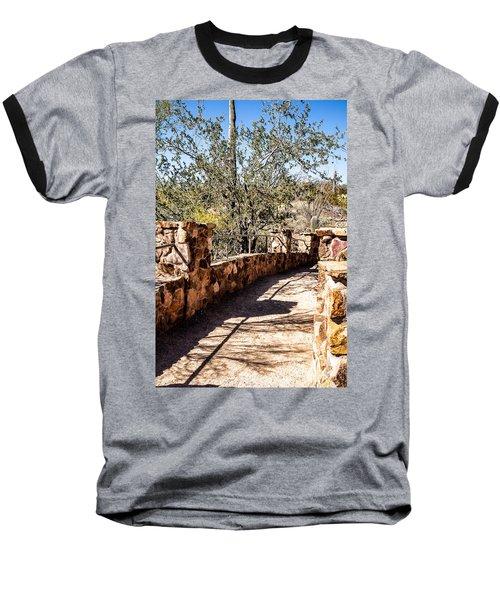 Bridge Over Desert Wash Baseball T-Shirt