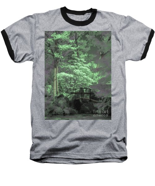 Bridge At Clark Gardens Baseball T-Shirt